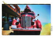 Diamond T Truck - Tomato Red Carry-all Pouch