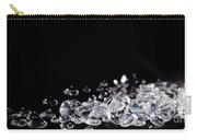 Diamonds On Black Background Carry-all Pouch