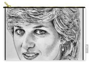 Diana - Princess Of Wales In 1981 Carry-all Pouch