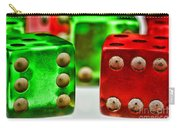 Dice - Boxcars Carry-all Pouch
