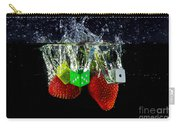 Dice Splash Carry-all Pouch by Rene Triay Photography