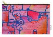 Dichotomy  Original Abstract Oil Painting By Regina Valluzzi Carry-all Pouch