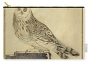Die Stein Eule Or Church Owl Carry-all Pouch