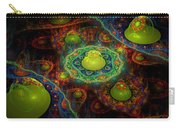 Digital Abstract Fractal Flame Art Carry-all Pouch