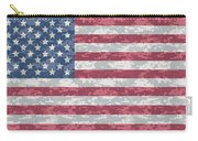 Digital Camo Us Flag Carry-all Pouch