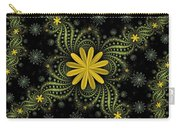 Digital Flowers Carry-all Pouch