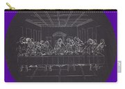 Digital  Last  Supper Carry-all Pouch