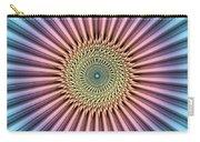Digital Mandala Flower Carry-all Pouch