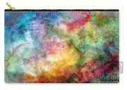 Digital Watercolor Abstract Carry-all Pouch