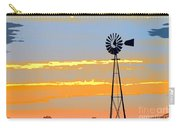 Digital Windmill-horizontal Carry-all Pouch