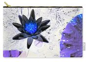 Digitally Altered Water Lily Carry-all Pouch