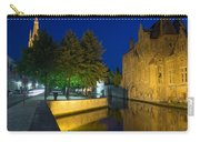 Dijver Canal At Night  Carry-all Pouch
