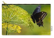 Dill And The Butterfly Carry-all Pouch