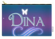 Dina Name Art Carry-all Pouch