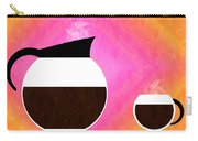 Diner Coffee Pot And Cup Sorbet Carry-all Pouch