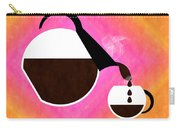 Diner Coffee Pot And Cup Sorbet Pouring Carry-all Pouch