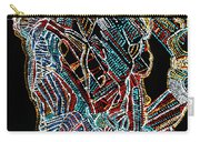 Dinka Warrior Carry-all Pouch by Gloria Ssali
