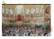 Dinner In The Salle Des Spectacles At Versailles Carry-all Pouch