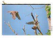 Dinner Time For The Kestrels Carry-all Pouch