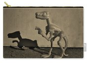 Dino Dark Medium Sepia Carry-all Pouch
