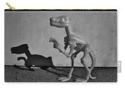 Dino Dark B W Carry-all Pouch