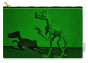 Dino Dark Green Carry-all Pouch