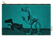 Dino Dark Turquoise Carry-all Pouch