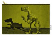 Dino Dark Yellow Carry-all Pouch