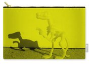 Dino Yellow Carry-all Pouch