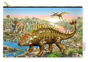 Dinosaur Panorama Carry-all Pouch