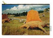 Dinosaur Sculpture Three Carry-all Pouch