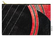 Diptych Wall Art - Macro - Red Section 2 Of 2 - Giants Colors Music - Abstract Carry-all Pouch