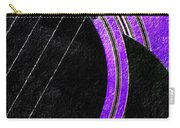 Diptych Wall Art - Macro - Purple Section 2 Of 2 - Vikings Colors - Music - Abstract Carry-all Pouch
