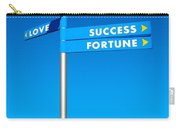 Directions To Goals Carry-all Pouch