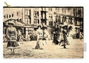 Directoire Gown - Philadelphia Mummers 1909 Carry-all Pouch