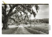 Dirt Road On Coosaw Plantation Carry-all Pouch