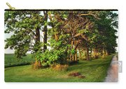 Dirt Road Passing Through Farm Carry-all Pouch