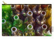 Dirty Bottles Carry-all Pouch by Carlos Caetano