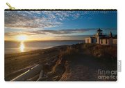 Discovery Park Lighthouse Sunset Carry-all Pouch