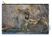 Disgruntled Lioness Carry-all Pouch