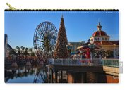 Disney California Adventure Christmas Carry-all Pouch