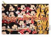 Disney Cuddlies Carry-all Pouch