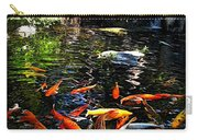Disney Epcot Japanese Koi Pond Carry-all Pouch