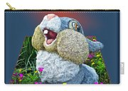 Disney Floral 05 Thumper Blue Carry-all Pouch