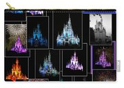 Disney Magic Kingdom Castle Collage Carry-all Pouch