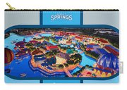 Disney Springs 2016 Billboard Carry-all Pouch