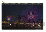 Disneyland Ferris Wheel At Dark Carry-all Pouch