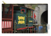 Disneyland Rr Oiling Green Engine 3 Carry-all Pouch