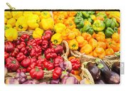 Display Of Fresh Vegetables At The Market Carry-all Pouch
