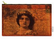 Distance - Vintage Art Collage Carry-all Pouch
